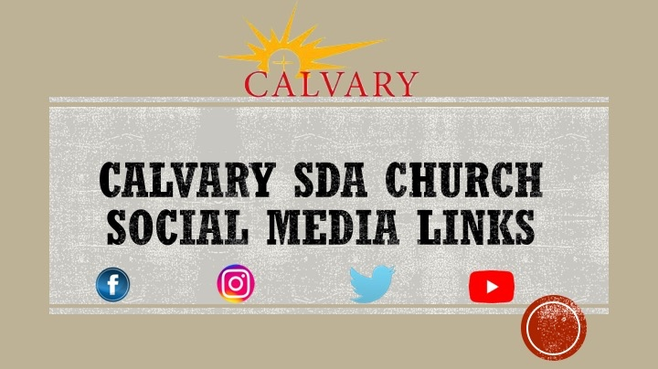 Calvary SDA Media Links