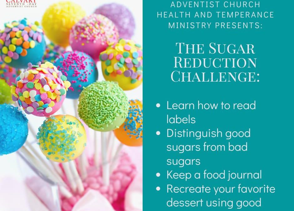 The Sugar Reduction Challenge