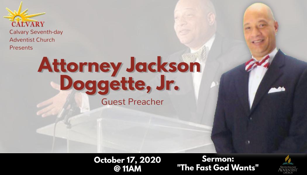 Sabbath Service – October 17, 2020