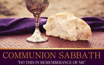 Communion Service – December 04, 2020