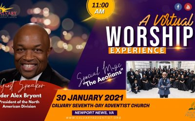 Sabbath Service – January 30, 2021