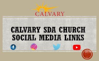 Calvary SDA Media Links