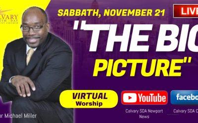 Sabbath Service – November 21, 2020