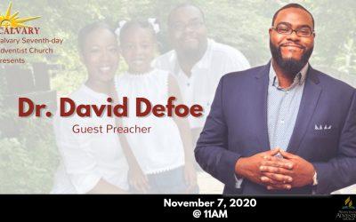 Sabbath Service – November 7, 2020