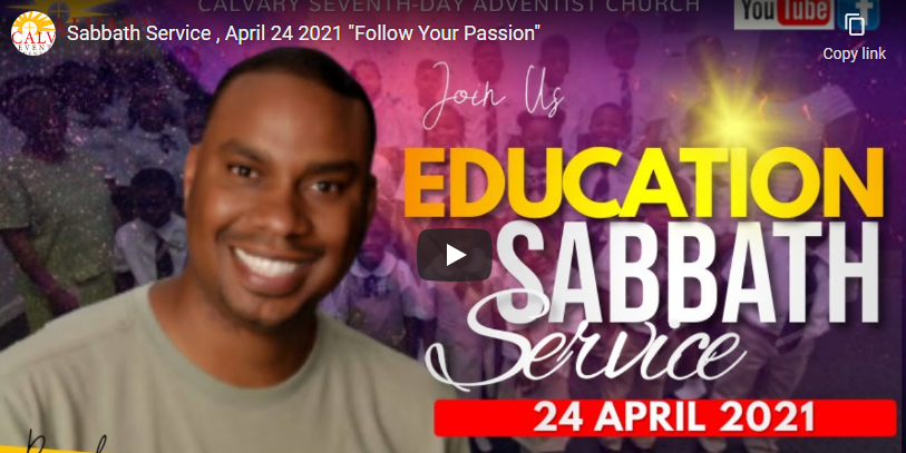 Sabbath Service – April 24, 2021